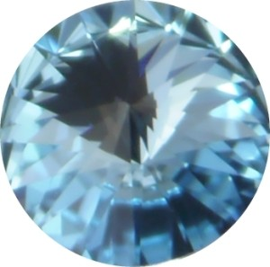 Swarovski Elements SS29 (6.14 - 6.32 mm) Rivoli Aquamarine