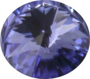 Swarovski Elements SS29 (6.14 - 6.32 mm) Rivoli Tanzanite